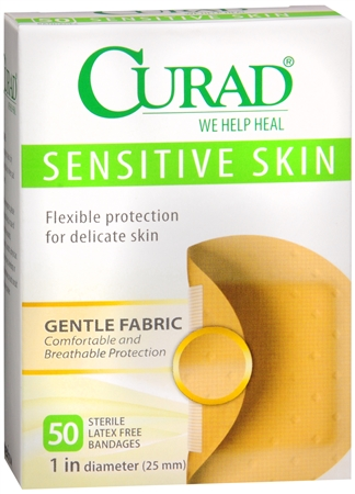 Curad Sensitive Skin Bandages Spots 50 Each 1222750