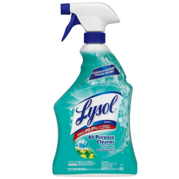 Lysol All Purpose Cleaner, Fresh Mountain Scent, 32 oz 1449300