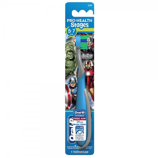 Oral-B Pro-Health Stages Marvel Avengers Soft Toothbrush 1 e 1405645