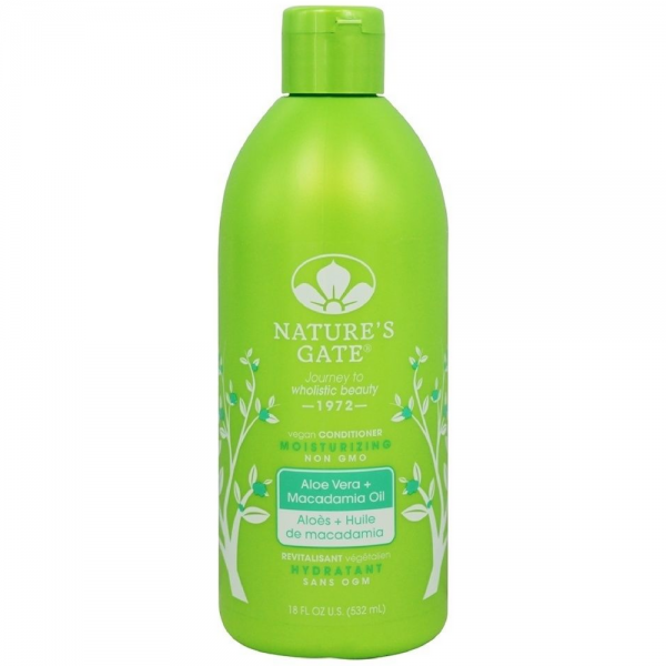Nature's Gate Moisturizing Conditioner, Aloe Vera + Macadami 1417190