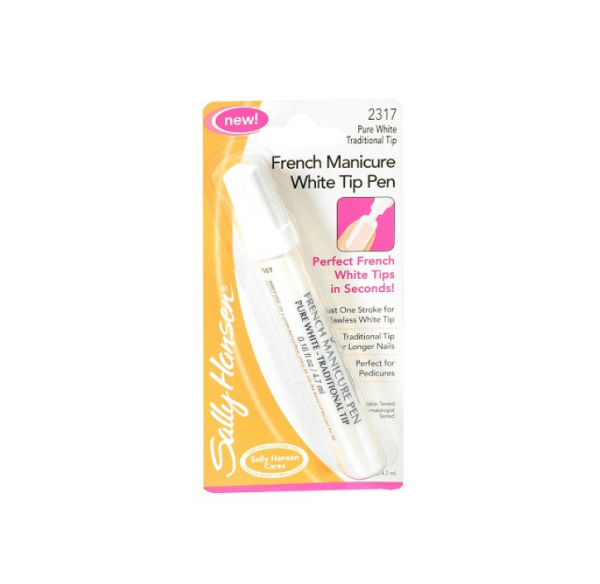 Sally Hansen French Manicure Pen, Pure White 0.16 oz 1360830