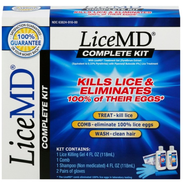 LiceMD Lice and Egg Removal Complete Kit, 2 ct 1371545