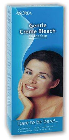 Andrea Gentle Creme Bleach for the face 1 kit 1321505