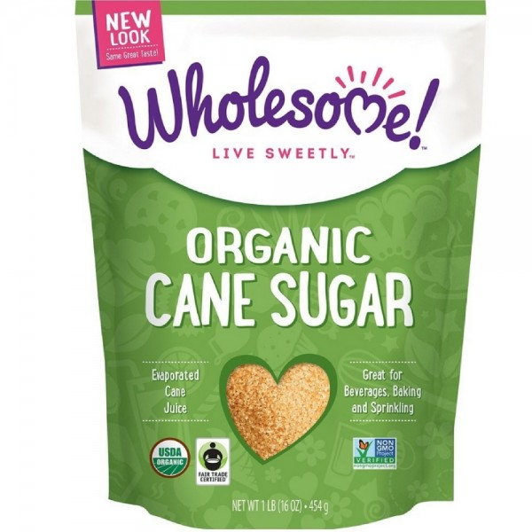 Wholesome Sweeteners Fair Trade Organic Sugar 16 oz 1460250