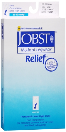 JOBST Medical LegWear Knee High 20-30 mmHg Firm Compression 1198490