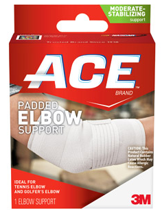 ACE Padded Elbow Support Large 1 ea 1309715