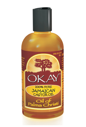 Okay 100% Pure Jamaican Castor Oil, 4 oz 1390810