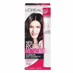 L'Oreal Root Rescue 10 Minute Root Coloring Kit 2 Natural Bl 1303915