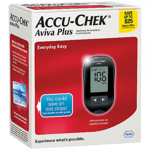 ACCU-CHEK Aviva Diabetes Monitoring Kit 1 Each 1144950
