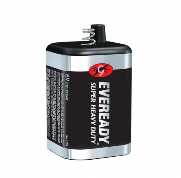 Image of Eveready Super Heavy Duty Battery 6 Volt [1209] 1 ea