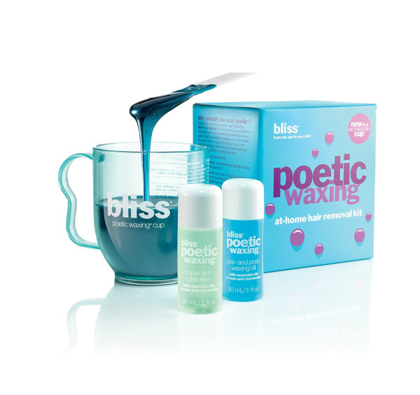 Bliss Poetic Waxing At-Home Hair Removal Kit 1 ea 1543770