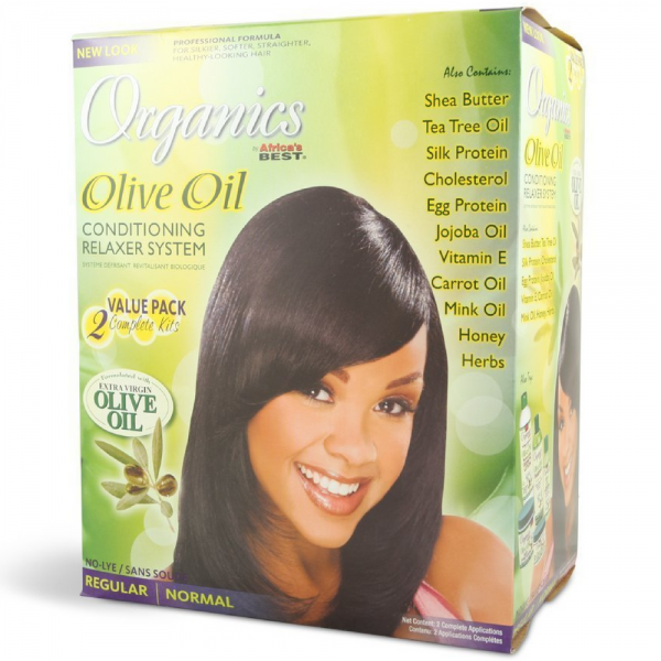 Africa's Best Organics Olive Oil Conditioning Relaxer System 1475215