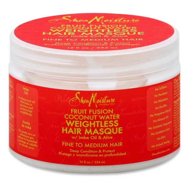 Shea Moisture Fruit Fusion Coconut Water Weightless Hair Mas 1491655