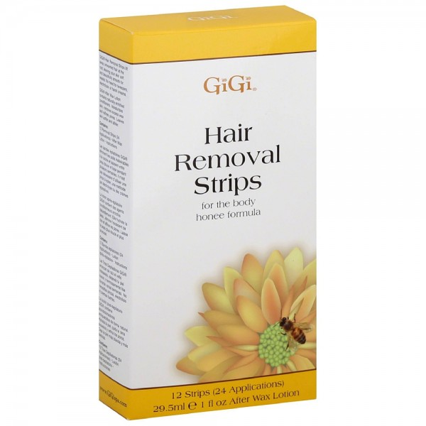GiGi Hair Removal Strips for the Body 12 ea 1430740