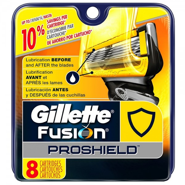 Gillette Fusion ProShield Razor Refill Cartridges 8 ea 1436135