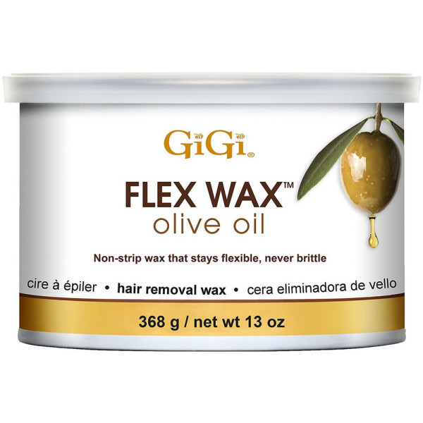 GiGi Olive Oil Flex Wax Hair Removal Wax 13 oz 1500710