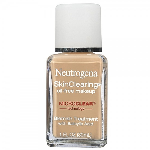 Neutrogena SkinClearing Oil-Free Liquid Makeup, Nude [40] 1 1448760