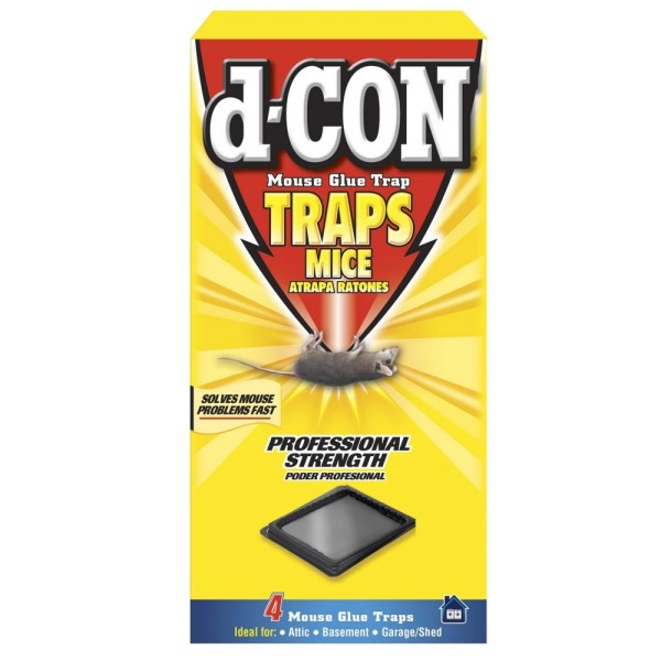 Image of d-CON Glue Tray for Mice, 4 Trays