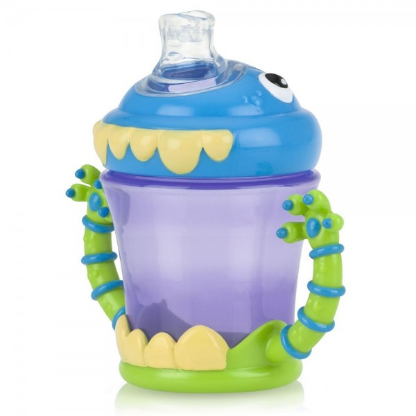 Nuby iMonster 7-oz Grip N' Sip Toddler Cup 1 ea 1438270