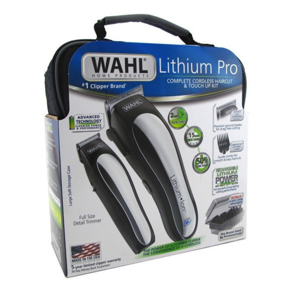 Wahl Lithium Pro Complete Cordless Haircut & Touch Up Kit 1 1486835